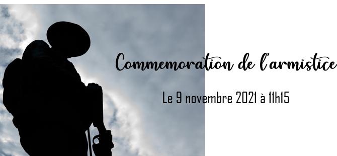 Armistice : le 09/11/2021