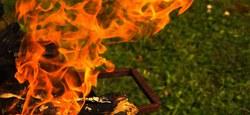 Brûler et abandonner des déchets, c'est interdit !