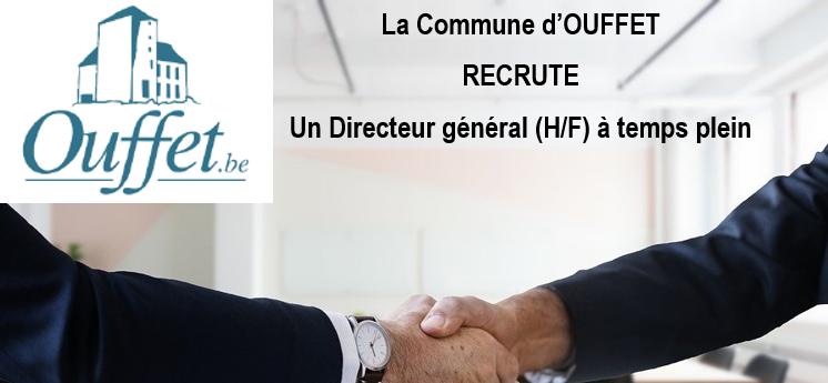 OUFFET : Recrutement d'un Directeur général