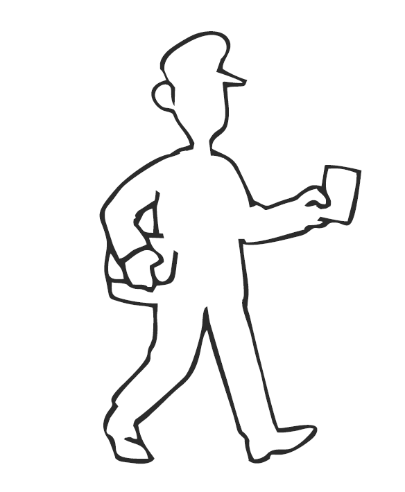 Balade du facteur logo