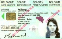 Perte, vol ou destruction d'un document d'identité
